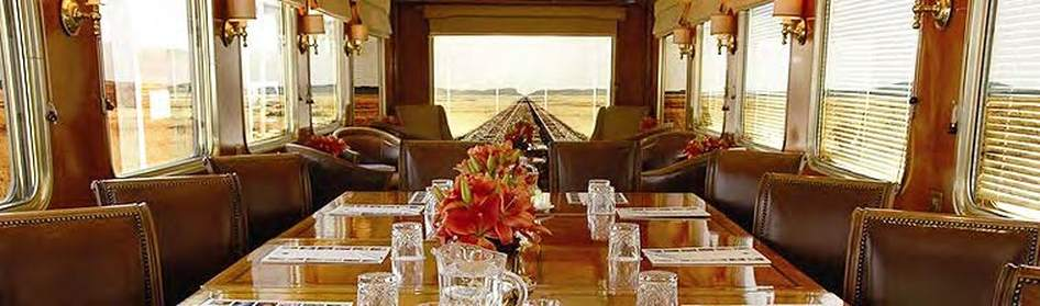 Observation car converted into a conference venue